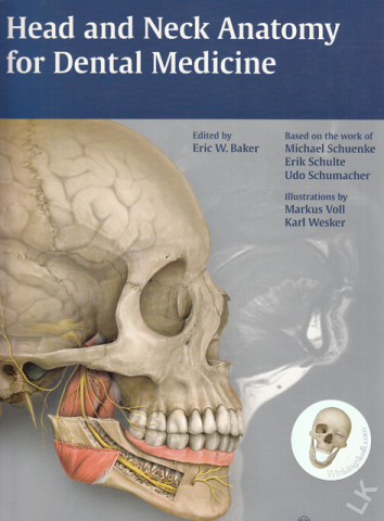 Head And Neck Anatomy For Dental Medicine Michael Schuenke Erik