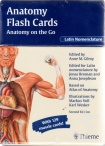 Anatomy Flash Cards: Anatomy on the Go.